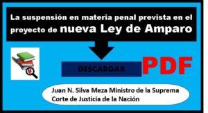 SUSPENSIÓNEN EL JUICIO DE AMPARO EN MATERIA PENAL en PDF
