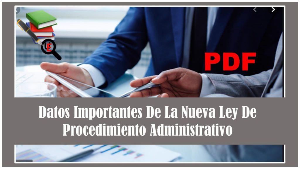 datos-importantes-de-la-nueva-ley-de-procedimiento-administrativo