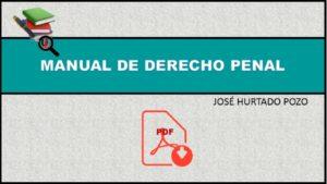 Manual de Derecho Penal José Hurtado Pozo en PDF