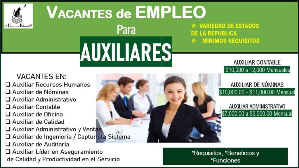 vacantes-de-empleo-para-auxiliares